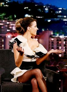 01 / 08 / 2017 - Kate Beckinsale au Jimmy Kimmel Live.