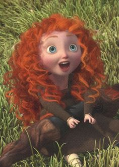 Not a big Brave fan, but can't deny the adorableness that is little Merida