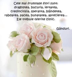 BUN VENIT,DRAGI PRIETENI VIRTUALI DE PRETUTINDENI! | Anitanna's Blog la… Morning Inspirational Quotes, True Words, Spiritual Quotes, Rose, Flowers, Martie, Drag, Kitchen Design, Ideas