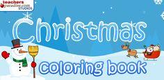 colorea dibujos navideños