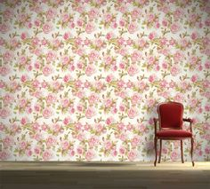 Floral ταπετσαρίες που θα σας φτιάξουν το κέφι!!  Ταπετσαρία τοίχου: http://www.houseart.gr/select_use.php?id=281&pid=10777