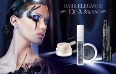 Make Up Factory Holiday 2016 Dark Elegance of a Swan Collection