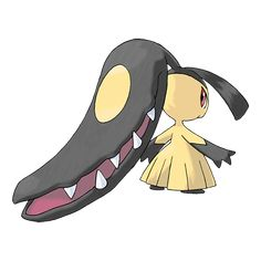 "Killer Croc's Pokémon #3 Mawile; Specialized move, ""Crunch"""