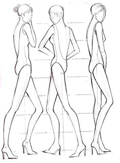 Fashion Illustration Figure Drawing Templates: How, What ,Why