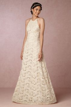 Cream Nimah Dress | BHLDN