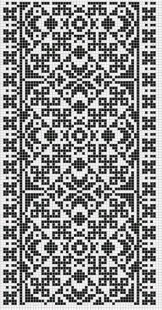 Cross Stitch Borders, Cross Stitch Flowers, Cross Stitch Designs, Cross Stitch Patterns, Knitting Charts, Knitting Stitches, Knitting Patterns, Needlepoint Patterns, Machine Embroidery Patterns