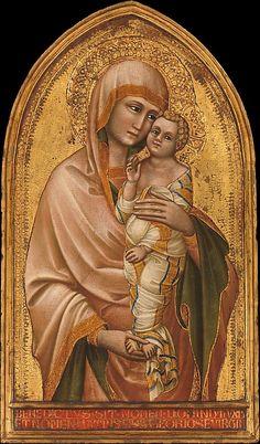 Madonna and Child  Guariento di Arpo (Italian, active Padua by 1338–died 1368/70)