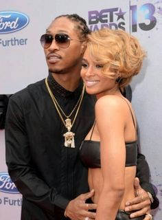 How cute are they together?! And I'm digging Ciara's hair!!!