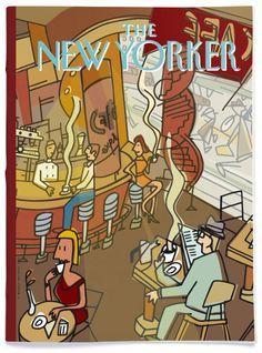 new yorker javier mariscal The New Yorker, New Yorker Covers, Graphic Design Posters, Graphic Design Illustration, Illustration Art, Classic Cartoon Characters, Classic Cartoons, Saul Steinberg, Art Graf