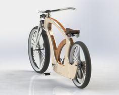 Wood Bike (work in progress) by Tiago Braz Martins