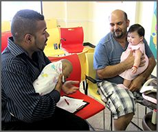 Fathers' Support Group: Dads who support breastfeeding help Moms carry through