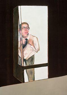 Francis Bacon, Study for Portrait of Gilbert de Botton, 1986
