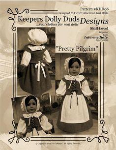 KeepersDollyDuds Designs Pattern KDD06 Pretty Pilgrim | Flickr - Photo Sharing!
