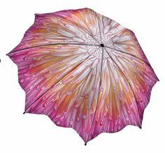 Chrysanthemum Floral Folding Umbrella