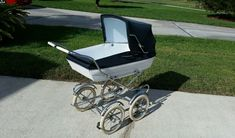 Vintage Peg Perego Pram Stroller Carriage Baby Buggy - Excellent Condit. Antique…