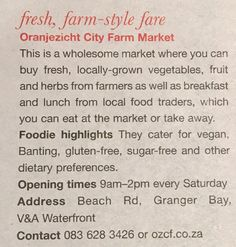 City Farm, Cape Town, Catering, Herbs, Lunch, Vegan, Fruit, Vegetables, Food