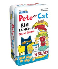 Look at this Pete the Cat 'Big Lunch' Card Game Tin on #zulily today!
