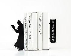 Serre-livres- LIVRAISON GRATUITE lire Batman serre-livres pour vos livres de cuisine découpé au laser metal