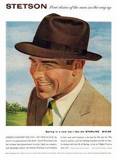 stetson hats, 1956