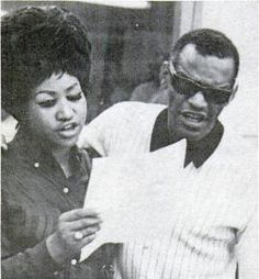 Aretha Franklin and  Ray Charles. Two people that have inspired me in my musical life.
