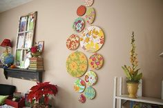 I saw this in a magazine several years ago and have been dreaming about it ever since! Perfect idea for my sewing area!