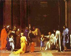 La Confirmación, 1640-1649 - Nicolas Poussin