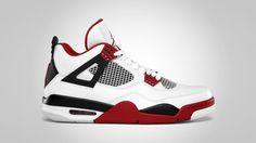 Air Jordan 4 Fire Red 2012