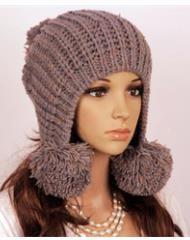 вязаные шапки женские