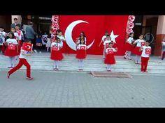 Adana Ata İlkokulu Bayrak Gosterisi - YouTube