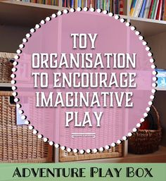 Add an Adventure Play Box for Imaginative Play to your play resources - the children will love it!