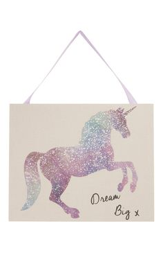 Primark - Unicorn Hanging Wall Plaque