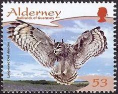 Alderney Guernsey Stamp