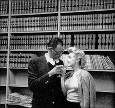 Jun Marilyn Monroe marries playwright Arthur Miller in a civil ceremony at the Westchester County Court House in White Plains, New York. Marilyn Monroe, Tony Curtis, Henry Miller, Jerry Lewis, John Kennedy, Lauren Bacall, Dean Martin, Billy Wilder, Candle In The Wind