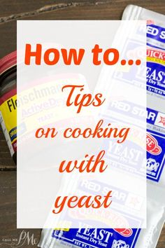 Fear not the yeast! I'm giving all the Tips for Baking with Yeast that you need to successful yeast bread! Don't let baking with yeast confuse or scare you, I've got simple guidelines to follow so you can enjoy homemade yeast bread and cinnamon rolls!