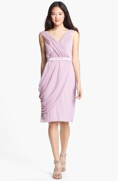 Dusty rose draping = love!