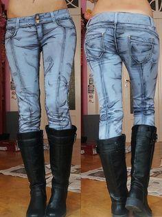 まるでマンガから飛び出してきたようなジーンズがカッコイイ!+しかもこれ、手作りですってぇえぇぇ!?