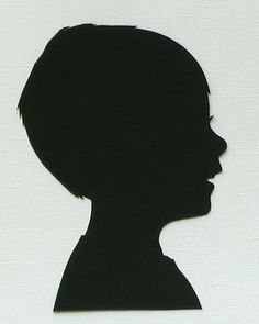 """silhouettes tutorial via the blog """"What I Made Today"""""""