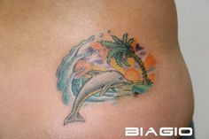 Only the best free Dolphin Women Tattoos tattoo's you can find online! Dolphin Women Tattoos tattoo's to print off and take to your tattoo artist. Tattoos For Women Flowers, Foot Tattoos For Women, Flower Tattoos, Elegant Tattoos, Trendy Tattoos, Mom Tattoos, Sleeve Tattoos, Tatoos, Beach Tattoos