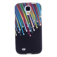 Colorful Stripes Pattern Soft Case Protective Skin Case for Samsung Galaxy S4 i9500