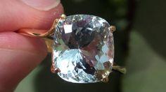 Shigar Aquamarine 7.00ct 18ct Gold Ring