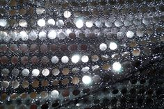 NB 5585-170 Paillette zwart/zilver