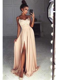 Abendkleider lang gunstig beige