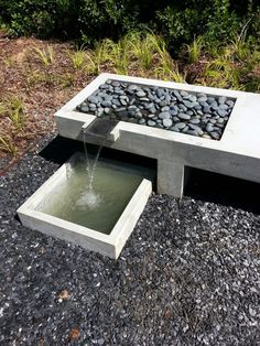 concrete water features - Google Search