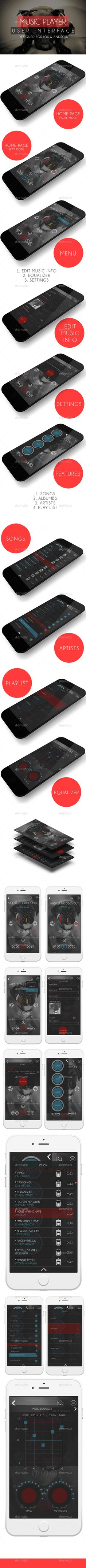 MUSIC PLAYER (USER INTERFACE) (User Interfaces)