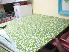 Bee In My Bonnet: Make your own covered quilt/iron table