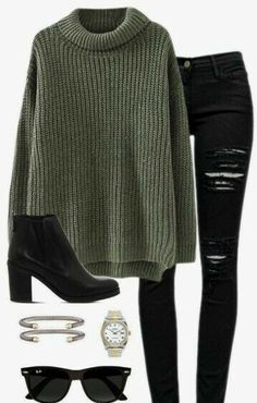 Cute Sweater Outfits For Women Cute Sweater Outfits For Women More from my site 18 Cute Fall Outfits To Get You In The Sweater Weather Mood best casual everyday outfits for school Cute Sweater Outfits, Cute Sweaters, Cute Casual Outfits, Stylish Outfits, Simple Edgy Outfits, Pullover Outfits, Knit Sweater Outfit, Knit Sweaters, Sweaters And Jeans
