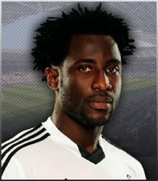 Wilfried Bony (Ivorian football striker who currently plays for Swansea City in the Premier League.) ♥