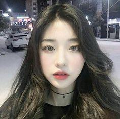A korean girl Ulzzang Korean Girl, Cute Korean Girl, Asian Cute, Pretty Asian, Beautiful Asian Girls, Ulzzang Couple, Cute Asian Girls, Uzzlang Girl, Girl Face
