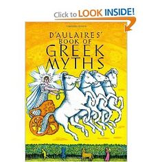 This is my favorite book for upper elementary children. I remember reading and re-reading it, and my kids now do the same. Beautiful illustrations and classic tales. A must-have for every child's library. D'Aulaires' Book of Greek Myths: Ingri d'Aulaire, Edgar Parin d'Aulaire