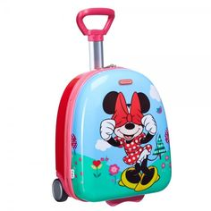 Hard upright 45 cm Minnie floral Samsonite Disney Wonder